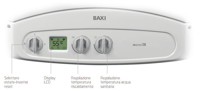 Caldaie baxi assistenza manutenzione e promozioni for Prezzo caldaia baxi eco 3